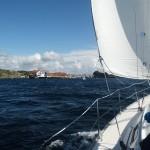 Einfahrt nach Marstrand