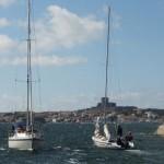 Ausfahrt aus Marstrand