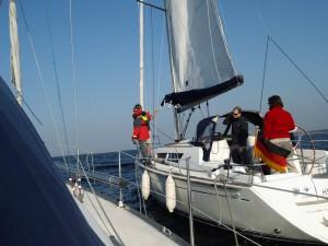Der Skipper möchte zurück an Bord der Cassiopeia